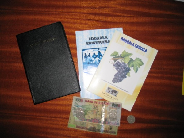 These are the Bibles and Bible studies we are providing through the Biibles for Africa program